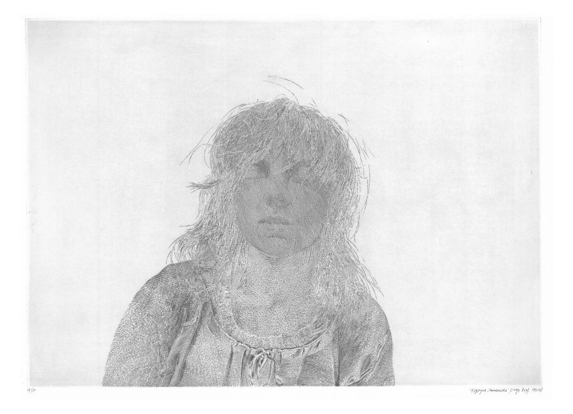 Krystyna Smiechowska - Gravure de Sonja Hopf