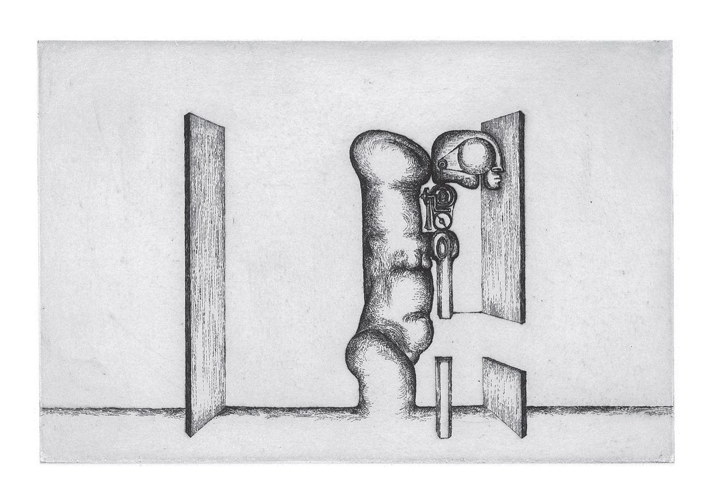 Miromesnil - gravure de Sonja Hopf