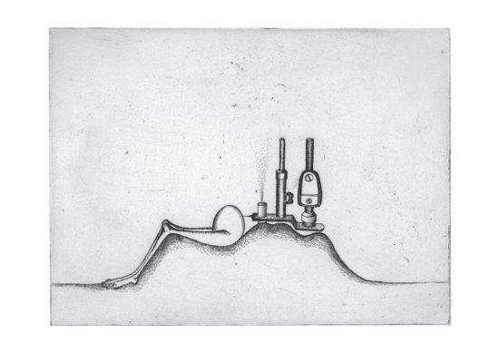 Pasteur - gravure de Sonja Hopf