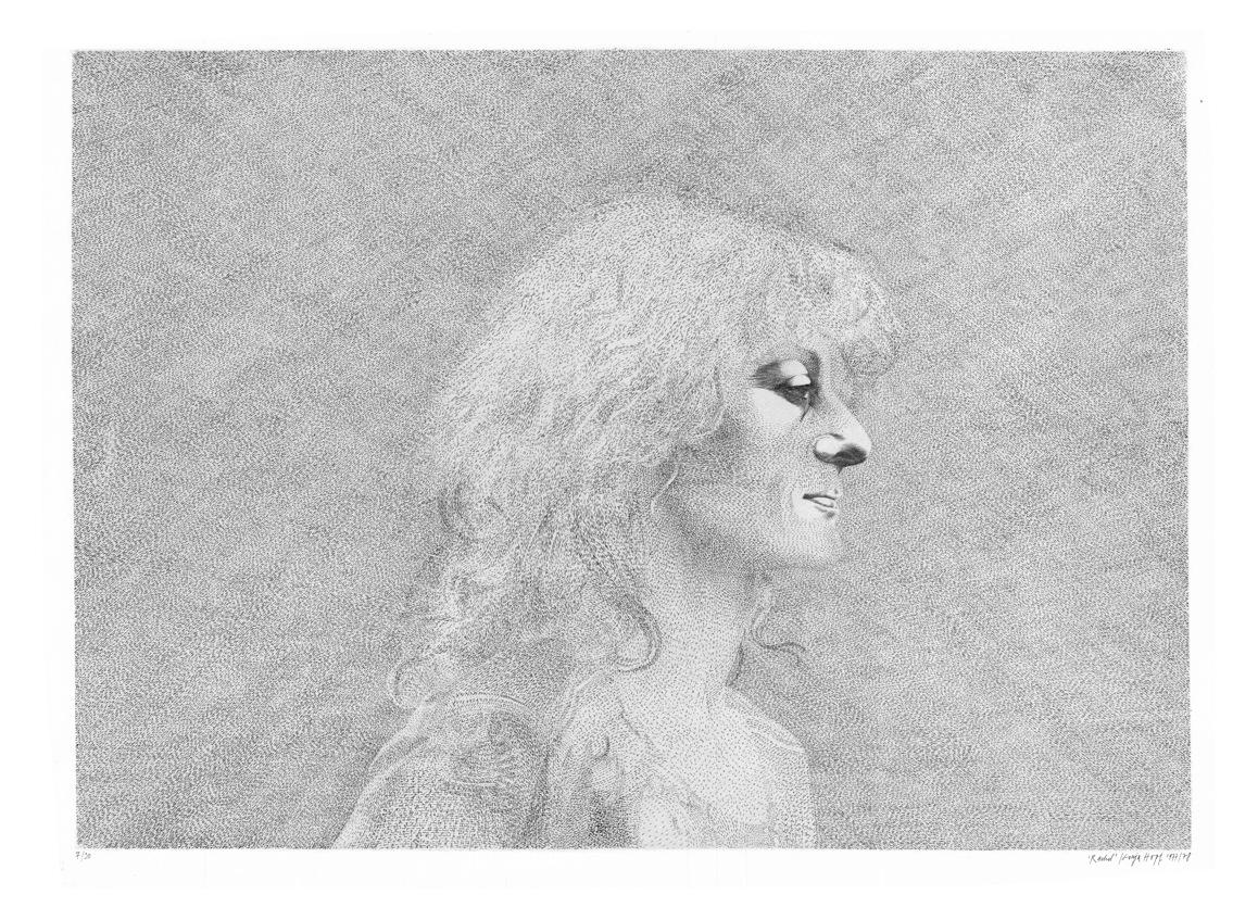 Rachel Mizrahi - Gravure de Sonja Hopf