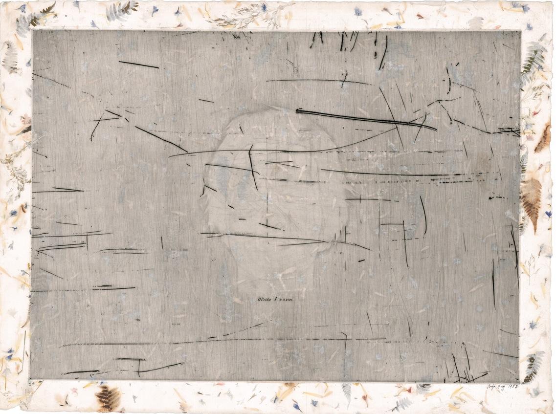 Ulrike Meinhof - Gravure de Sonja Hopf