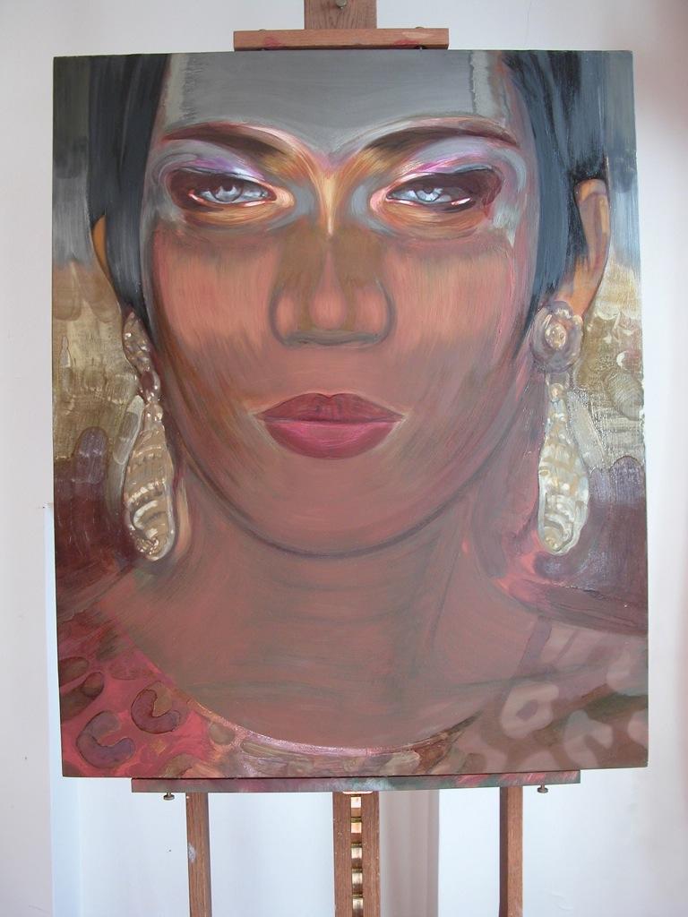 Portrait de Bambou par Sonja Hopf