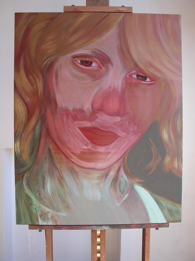 Portrait de Elisabeth par Sonja Hopf
