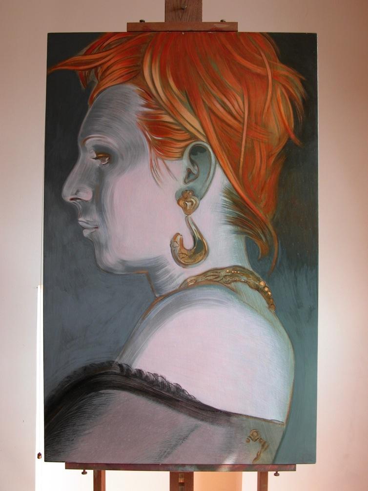 Portrait de Ingrid par Sonja Hopf