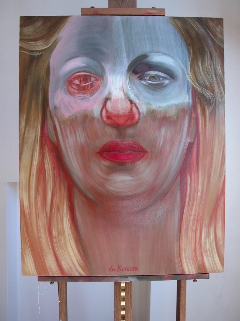 Portrait de La Baronne par Sonja Hopf