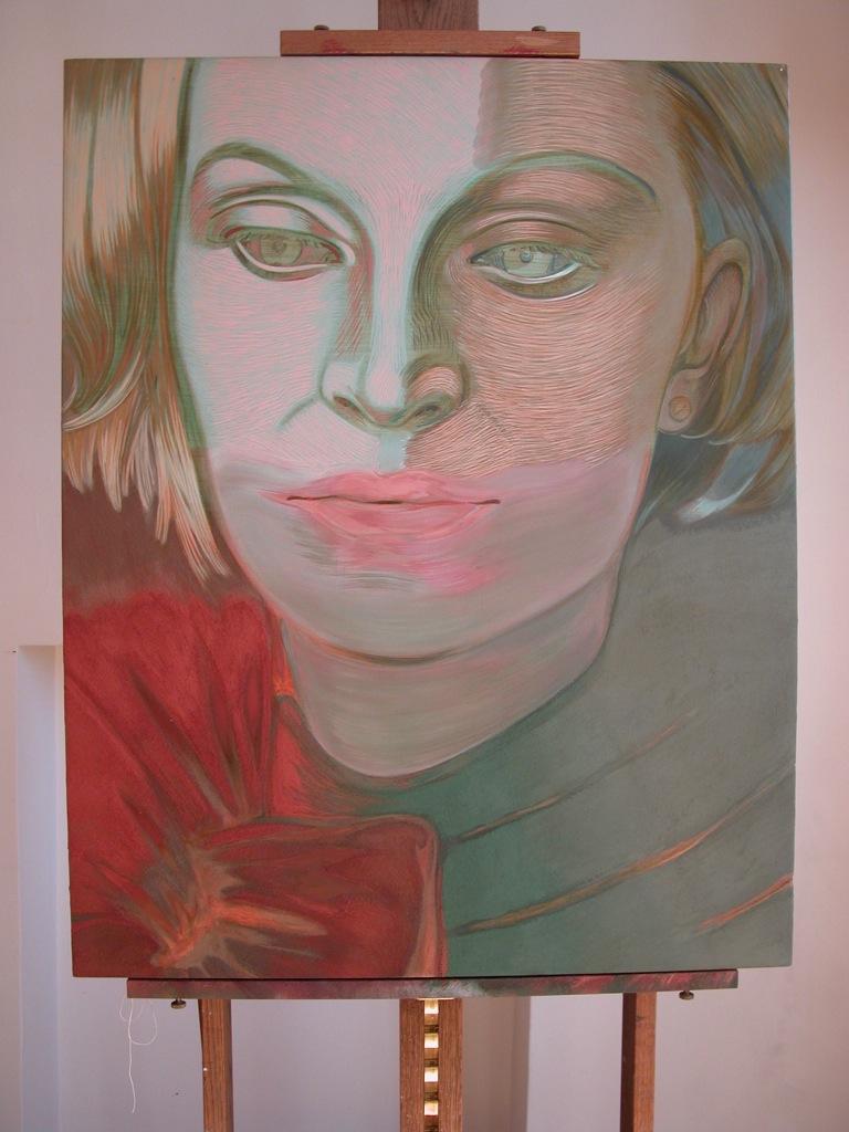 Portrait de Louise par Sonja Hopf