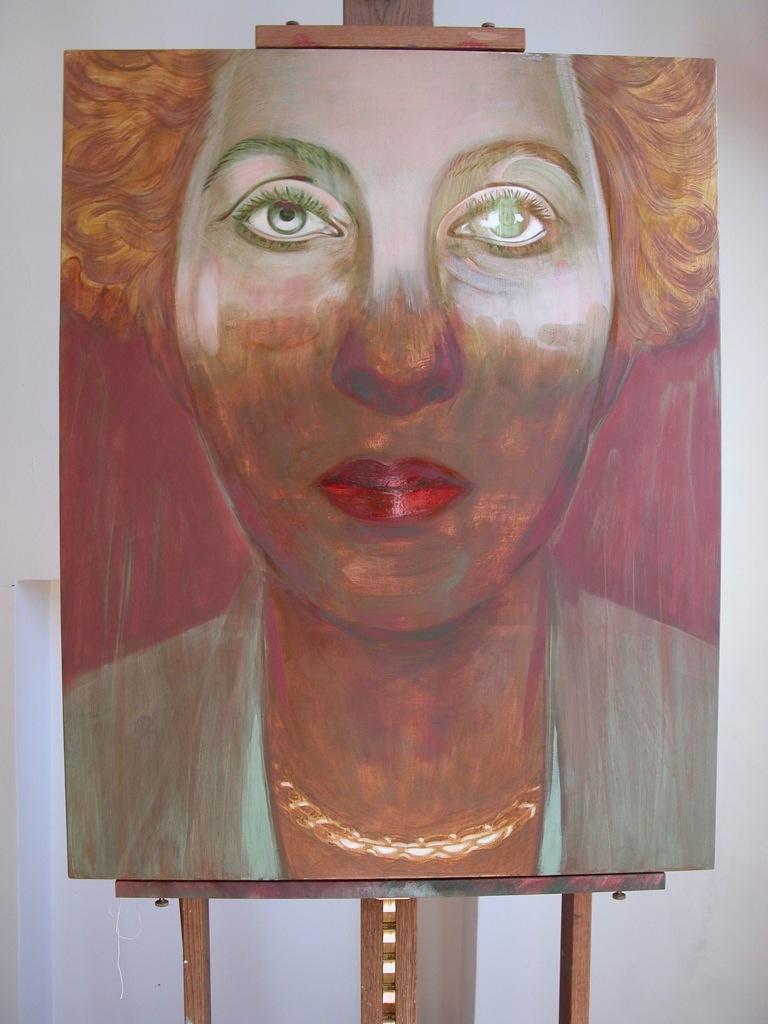 Portrait de Marceline par Sonja Hopf