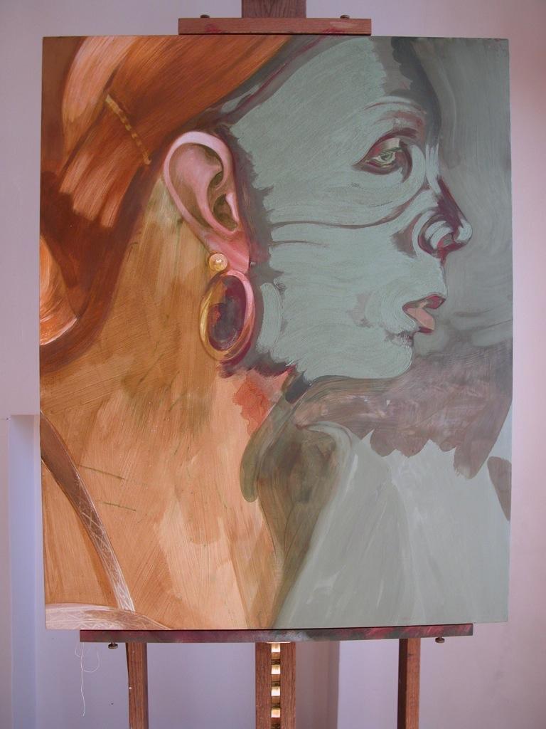Portrait de Marina par Sonja Hopf