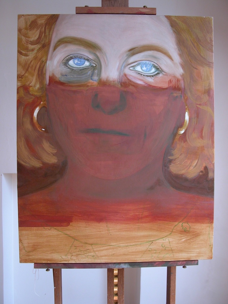 Portrait de Yolande par Sonja Hopf