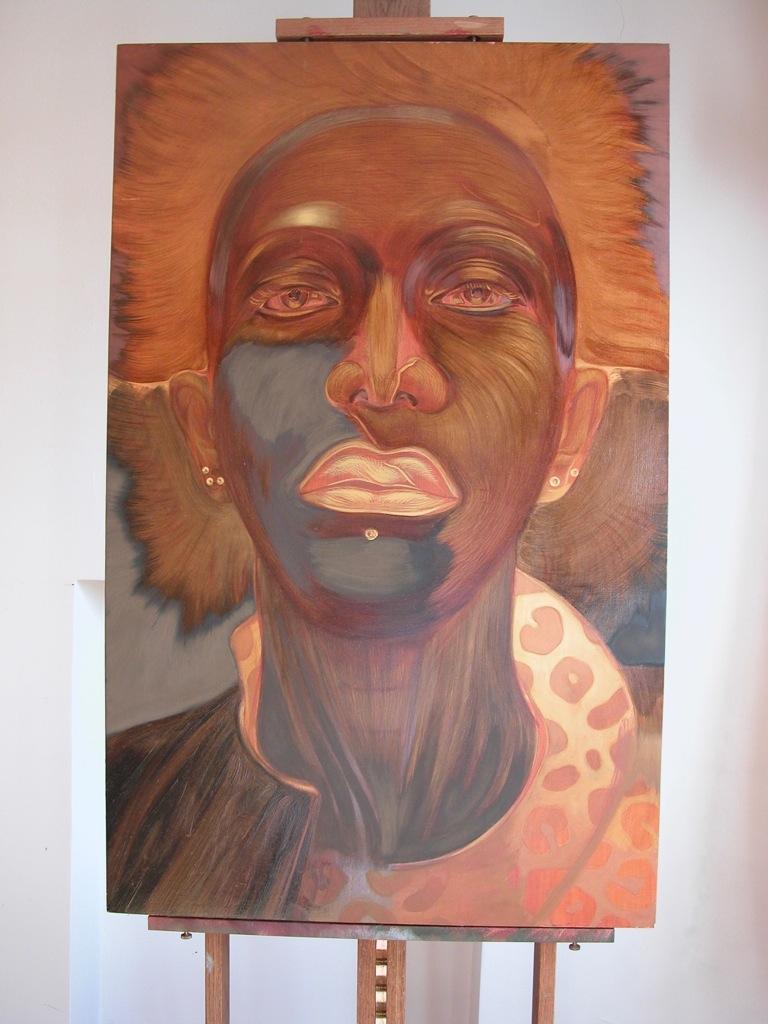 Portrait de Twigy par Sonja Hopf