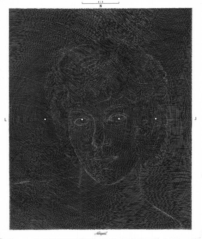 Abigail I - gravure de Sonja Hopf