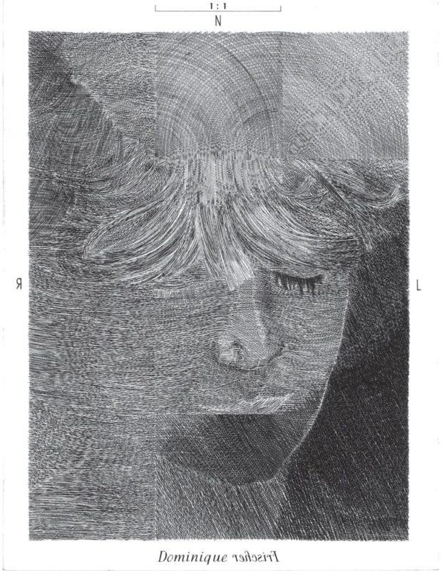 Dominique - gravure de Sonja Hopf