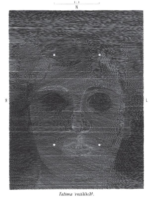 Fatima - Gravure de Sonja Hopf