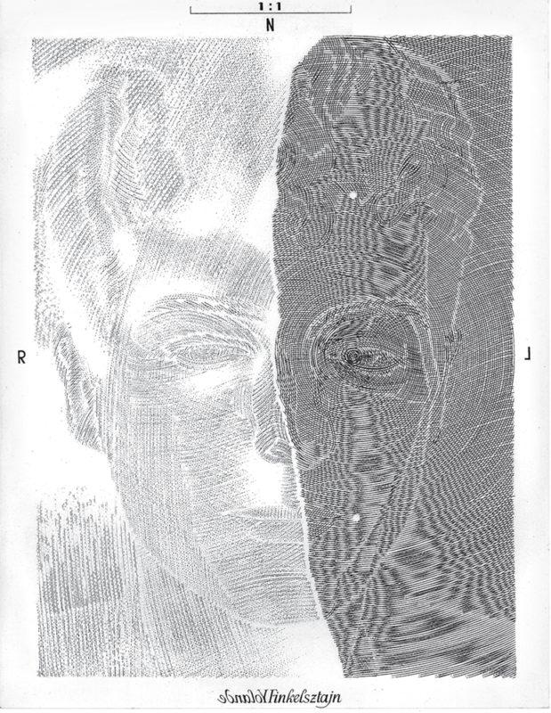 Finkelsztajn - gravure de Sonja Hopf