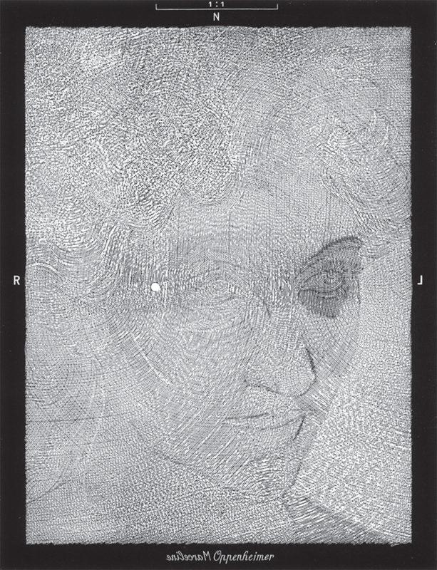 Oppenheimer - gravure de Sonja Hopf