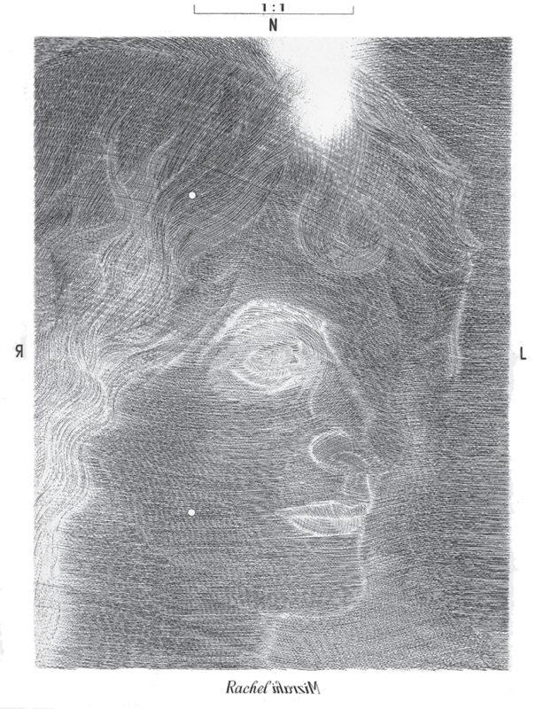 Rachel - gravure de Sonja Hopf
