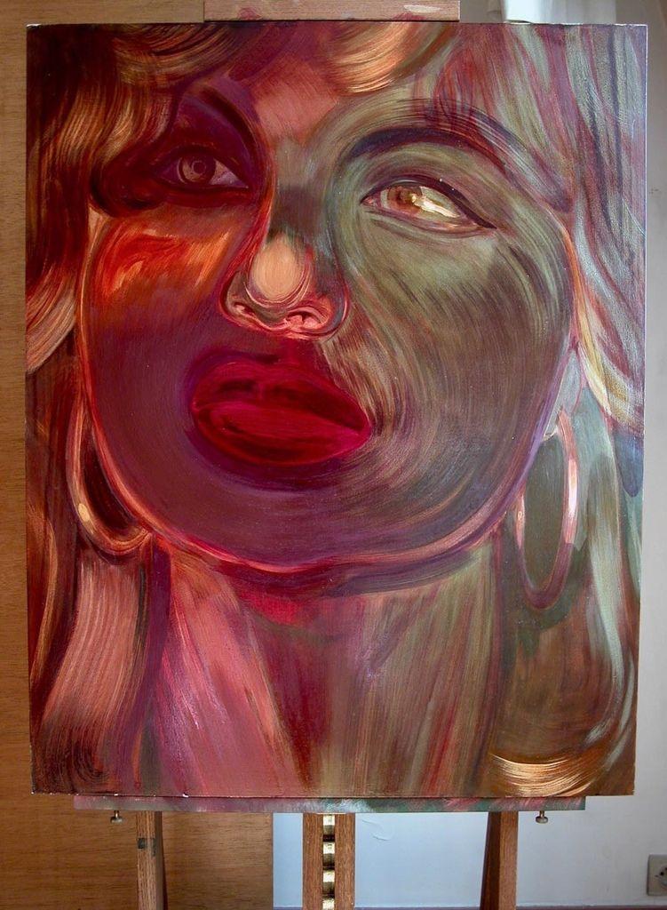 Portrait de Varvara par Sonja Hopf